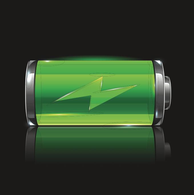 заряд батареи с изменением картинки бывают